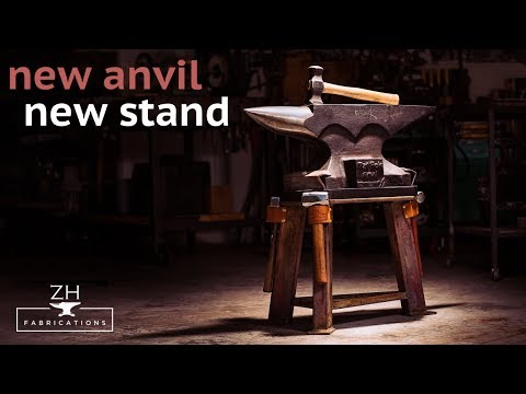 New anvil, new Stand | ZH Fabrications