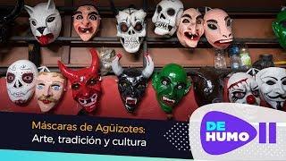 Máscaras populares de los Agüizotes