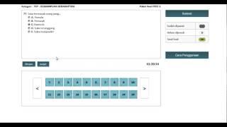 Video CONTOH TES CPNS CAT BKN 2014 download MP3, 3GP, MP4, WEBM, AVI, FLV Juli 2018