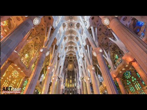 ARTTOUR INTERNATIONAL TV - WWW.ATIM.TV Season 1: Episode 4 -  Gaudi in Barcelona