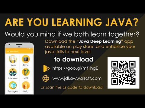 Java Deep Learning: Core java - Apps on Google Play