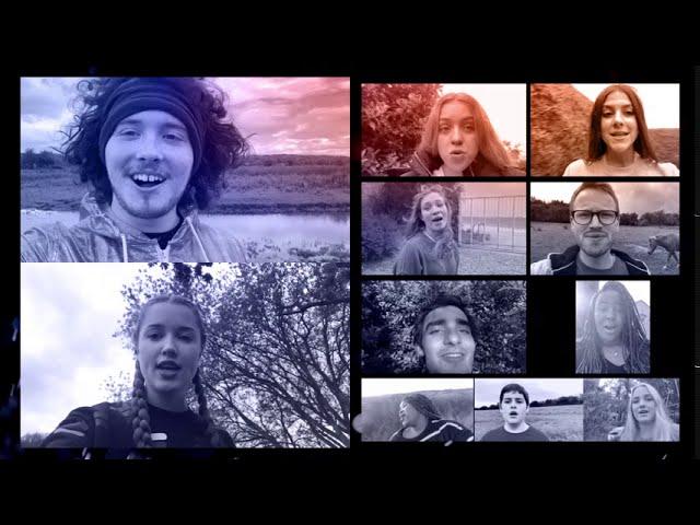 Tuks Camerata & Barnsley Youth Choir - Let the River Run - arr. Craig Hella Johnson