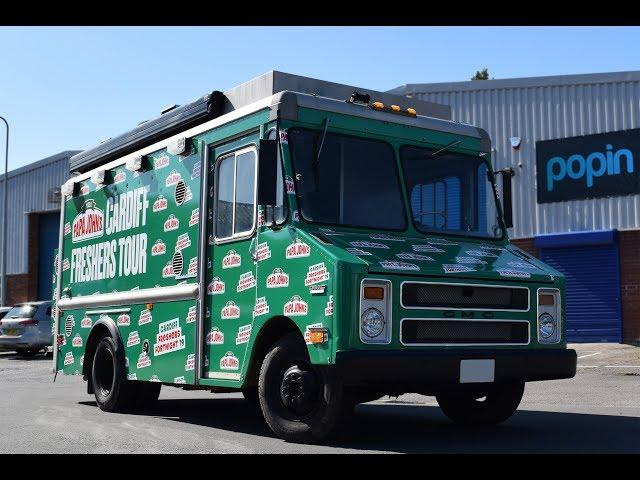 Papa Johns   GMC Truck Full Colour Digitally Printed Full Wrap