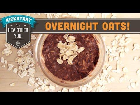 Overnight Oats Cocoa-Nut Banana! Mind Over Munch Kickstart Series