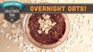 Overnight Oats - Cocoa-nut Banana! Mind Over Munch Kickstart Series