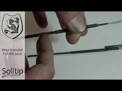 0654 Professional Repair Of A Flyrod With Broken Spigot By Solitip