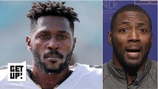 Antonio Brown is 'just not a good human' - Ryan Clark on beef with JuJu Smith-Schuster | Get Up!