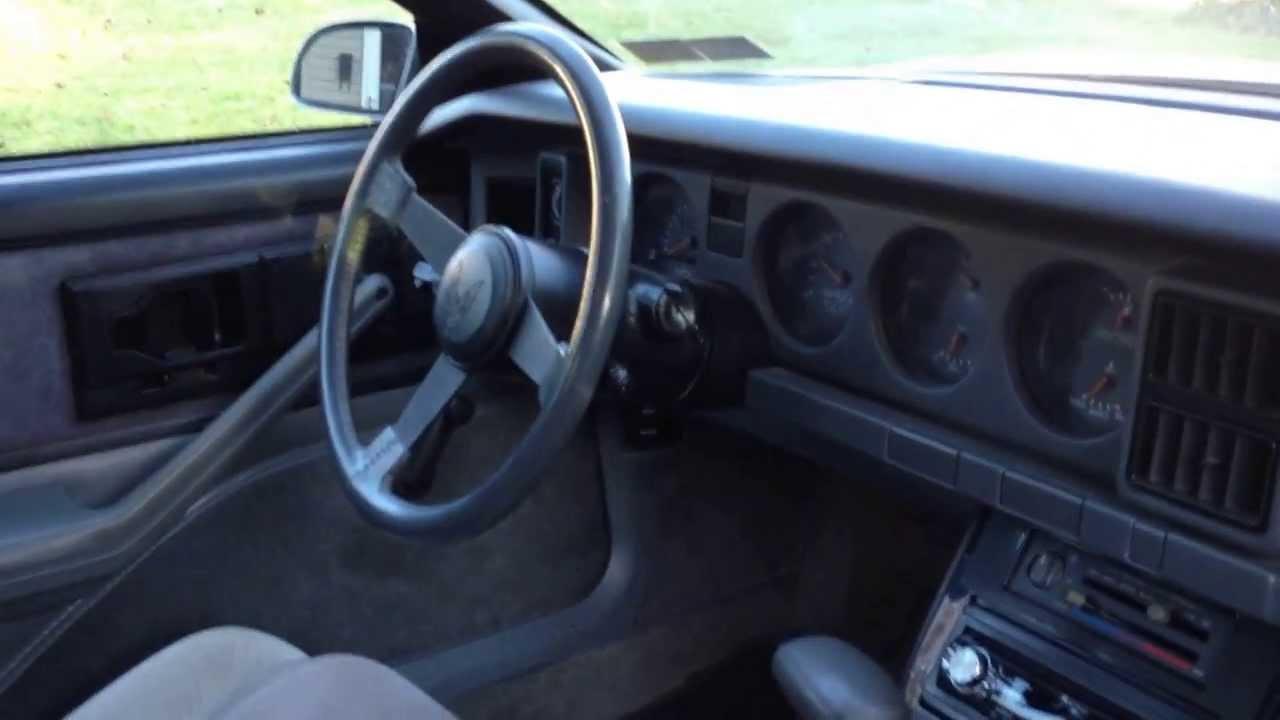 1986 Trans Am Interior Parts