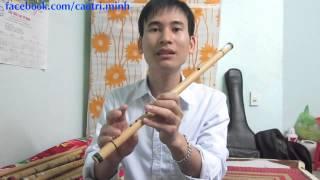 4. Hướng dẫn thổi sáo 2015: Các nốt trên sáo -- (sáo trúc Cao Trí Minh )