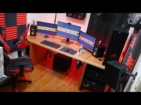 One of a kind server rack desk