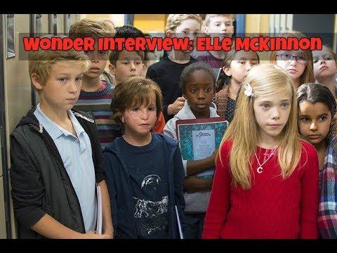 Wonder Behind the Scenes - Elle McKinnon...