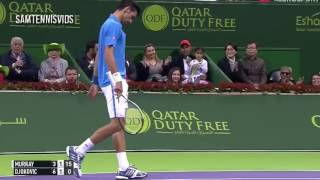 Andy Murray Vs Novak Djokovic Qatar Open Doha 2017 Final (Highlights HD)