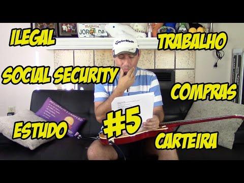 Respondendo aos Inscritos #5 - Ilegal, Social Security, Trabalho, Carteira etc