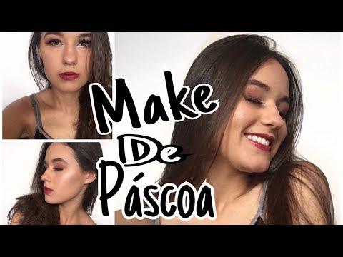 MAKE DE PÁSCOA -  Super fácil