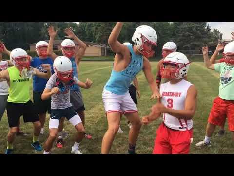 Michigan Lutheran Seminary 'Pitch Perfect' to start football practice