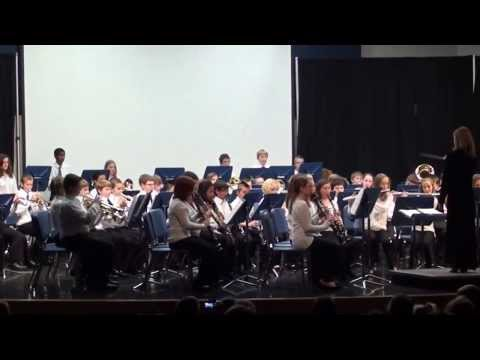 DC everest Middle School 2013 Concert 5