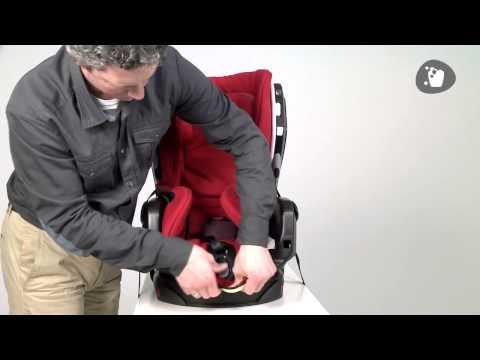 Детское автокресло Maxi Cosi  Axiss   Как убрать чехол