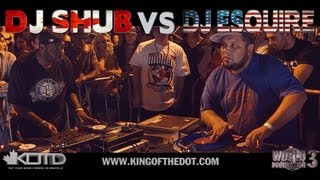 KOTD - Dj Battle - DJ Shub vs DJ Esquire (CANADA VS AMERICA)