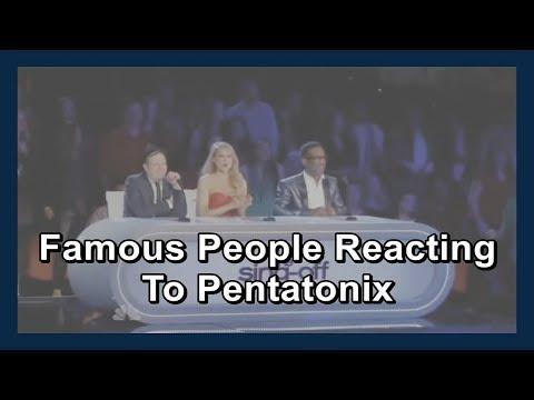 Famous People Reacting To Pentatonix