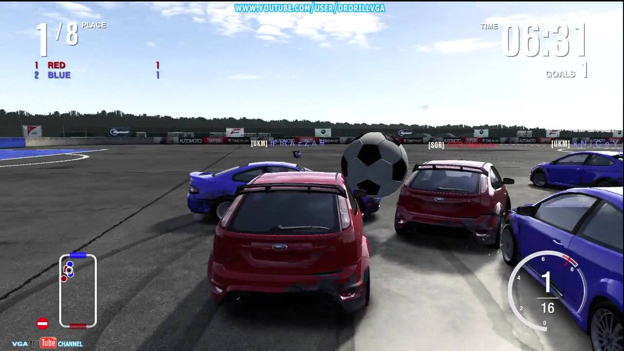 forza 4 top gear soccer football gameplay hd xbox 360. Black Bedroom Furniture Sets. Home Design Ideas