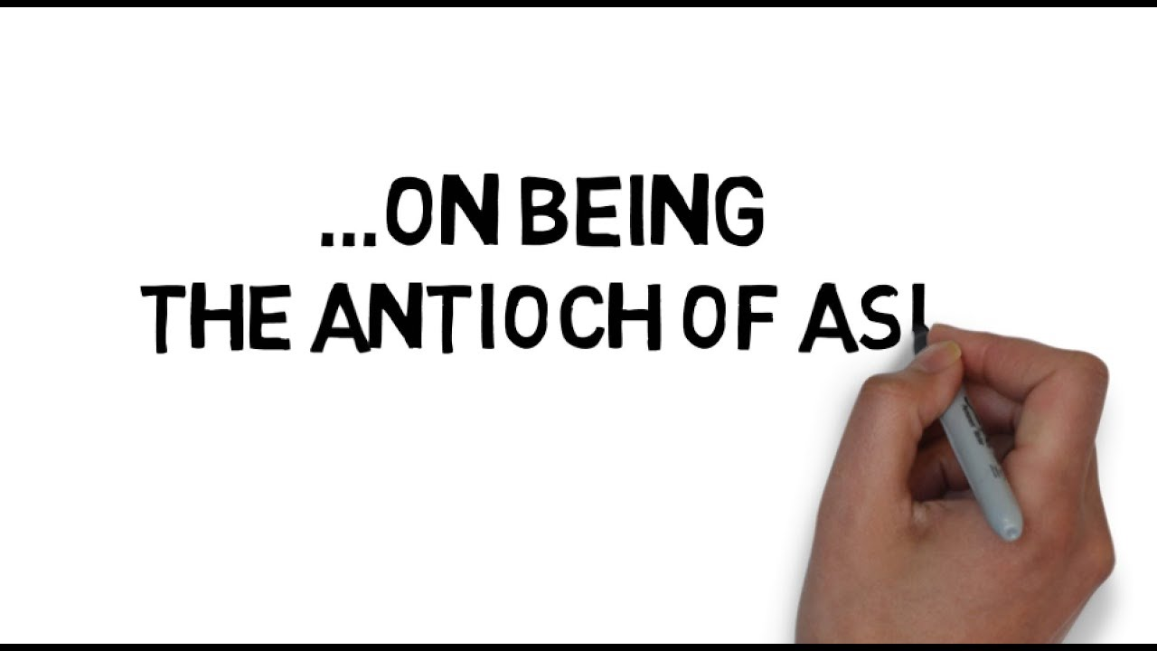 On Being the Antioch of Asia: Introduction