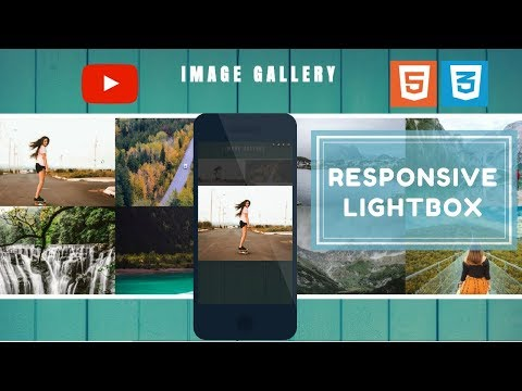 Create Image Gallery HTML, CSS And JQuery (2018) | Responsive Lightbox Gallery Plugin | Fancybox 3