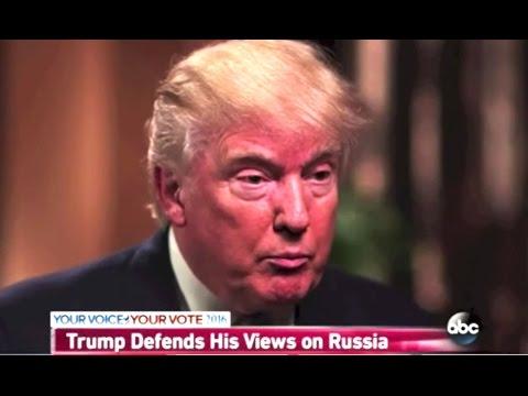 Trump Guarantees Putin Won't Go Into Ukraine. (He Already Has.)