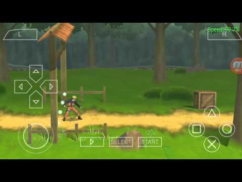Ppsspp на андроид игра naruto heroes3 ставь лайк😊