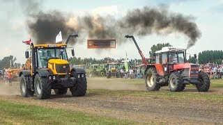 Tractor Drag Race 2018 | JCB vs Zetor Crystal | Winner?? | Tractor Show