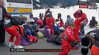 Le pari d'une petite station de ski - Focus (09/04/2013)
