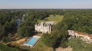Camping Château La Forêt - St.Julien-des-Landes, Vendée, Frankreich