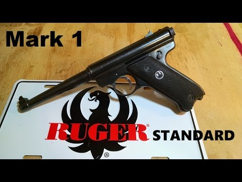 Ruger Standard (Mark I) review, takedown, easy assembly & some history