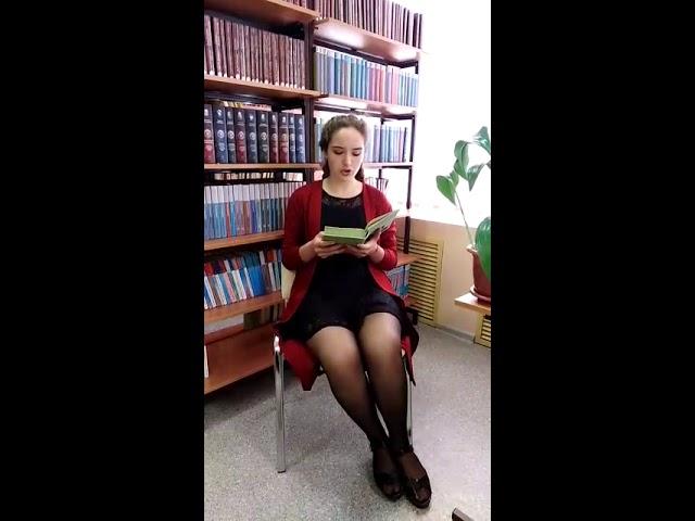 Изображение предпросмотра прочтения – ЮлияКолесникова читает произведение «Тебе случилось в роще тёмной» И.С.Тургенева