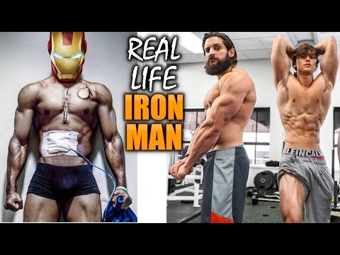 REAL LIFE IRON MAN IN NEW YORK! | TRICEPS BACK & HAMSTRINGS with DAVID LAID | Casey Neistat Hang Out