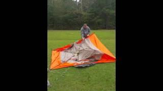 Ozark 6 man instant tent set up