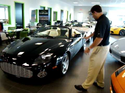 2003 Aston Martin Ar1 Zagato Walk Around Naples