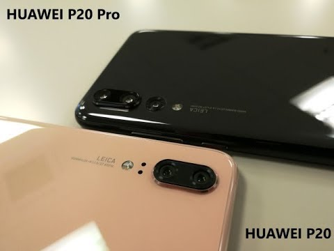Huawei P20 και P20 Pro hands-on (Greek)