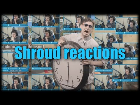 Shroud reacting to his reaction reaches whole new level