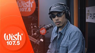"Al James performs ""Latina"" LIVE on Wish 107.5 Bus"