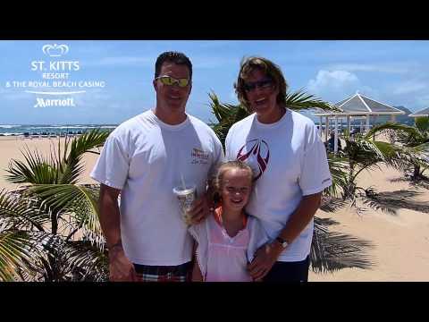 Kourtnee, Tauna and Rusty at the St. Kitts Marriott Resort - June 2013