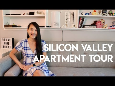What $2,100 gets you in Silicon Valley (furnished apartment tour)