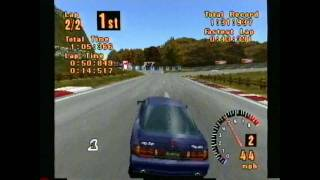 Classic Game Room HD - GRAN TURISMO 1 for PS1 review