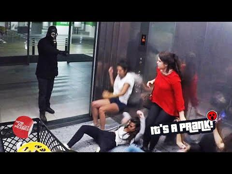 Elevator of Doom Prank 2