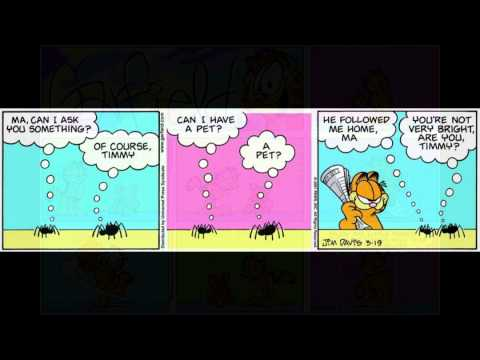 Garfield Comics - March, 2001