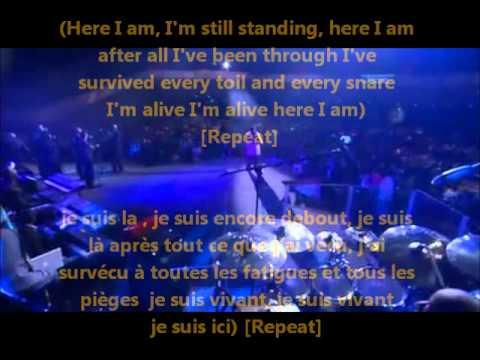 Marvin Sapp Here i am lyrics traduction en francais