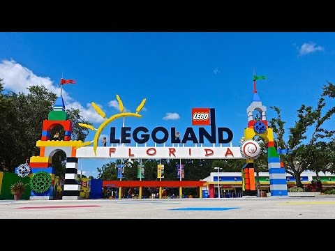 LEGOLAND Florida 2014 Tour, Legoland Water Park, Historic Cypress Gardens