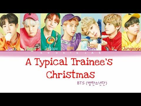 BTS(방탄소년단) - 'A Typical Trainee's Christmas' Color Coded Lyrics(Han|Rom|Eng) [MERRY CHRISTMAS]