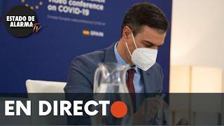🔴 DIRECTO   Rueda de prensa de Pedro Sánchez  tras el Consejo Europeo Extraordinario