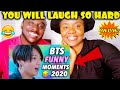 BTS funny moments 2020- try not to laugh part 2 reaction  | REACTION |