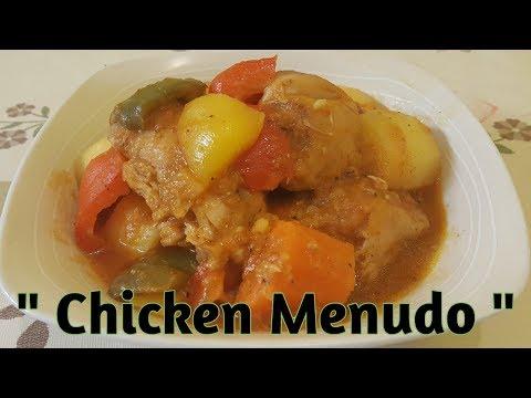 CHICKEN MENUDO RECIPE  || FILIPINO Recipe